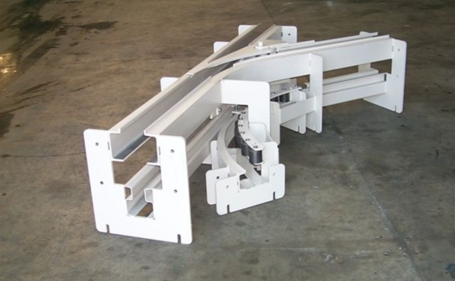 Power and Free Conveyor, Track Switch Assembly